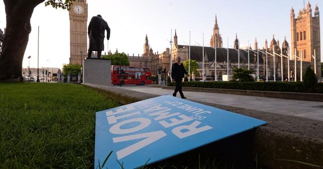 AP PHOTOS: Scenes from Britain's European Union referendum