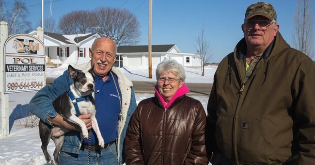 Court bites back, exonerates Michigan TV vet who saved dog