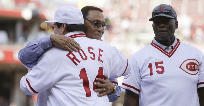 Reds open weekend of honoring Pete Rose by reuniting Machine