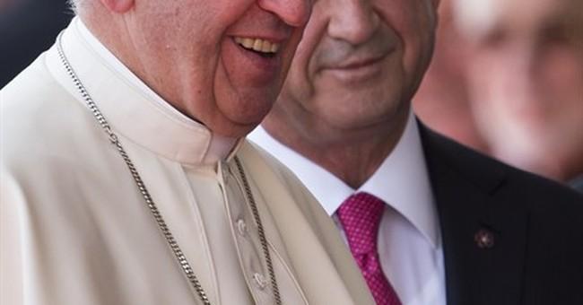 Pope prays at Armenia memorial after denouncing 'genocide'