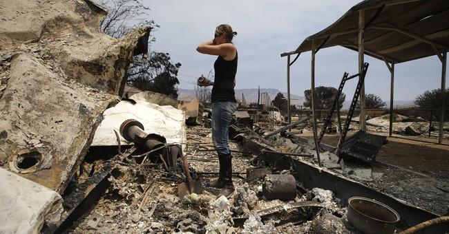 California wildfire 'most destructive' in county history