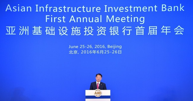 China-led development bank approves first loans