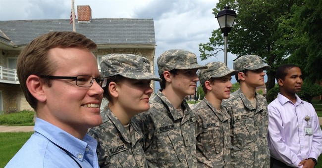 Deaf teacher's quest for armed service inspires students
