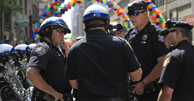 Rainbow flags, images of shooting victims at pride parades