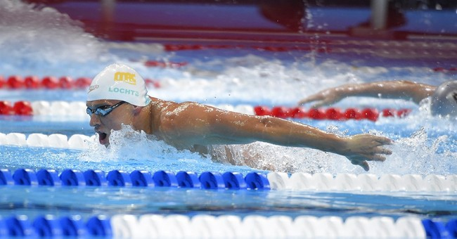 Lochte finishes 2nd in 400 IM heats at US Olympic trials