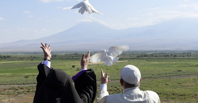 Pope's message of peace resonates with Syrian Armenians