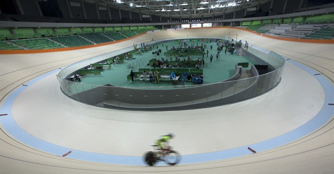 Delayed velodrome for Rio Olympics almost ready to go