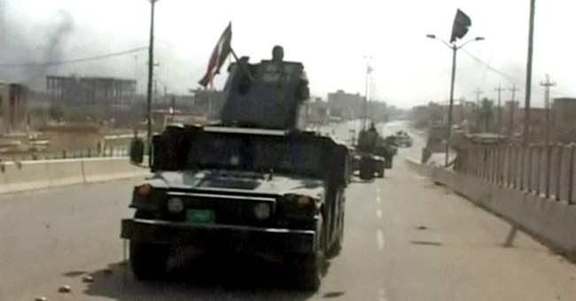 Fallujah fully liberated from IS group, Iraqi commander says