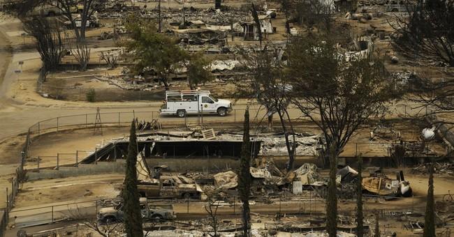 The Latest: Crews make progress against California wildfire