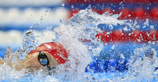 Katie Ledecky cruises into 400 free final at US swim trials