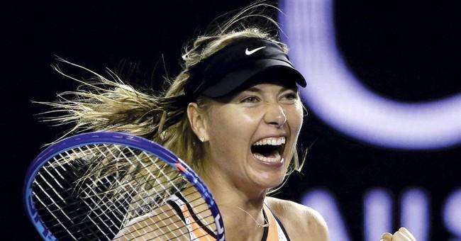 Net gain: Sharapova takes Harvard business course during ban