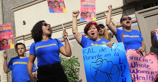 The Latest: Wendy Davis calls abortion ruling gratifying end