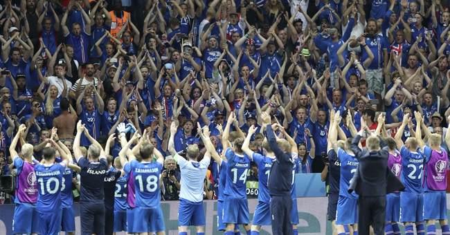 Iceland celebrates improbable win over England at Euro 2016