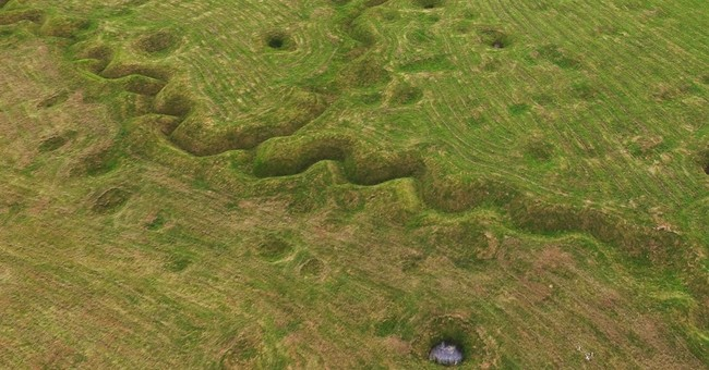 100 years later, scarred landscape from Battle of the Somme
