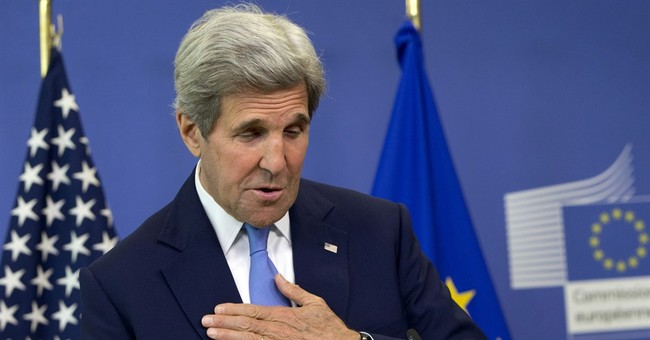 Kerry urges calm in meetings with EU, British leaders