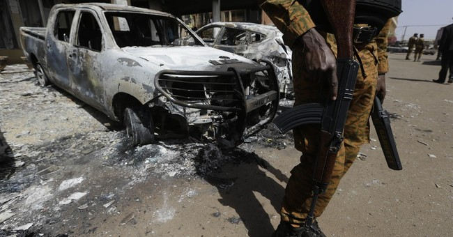 AP Exclusive: Video footage shows Burkina Faso attackers