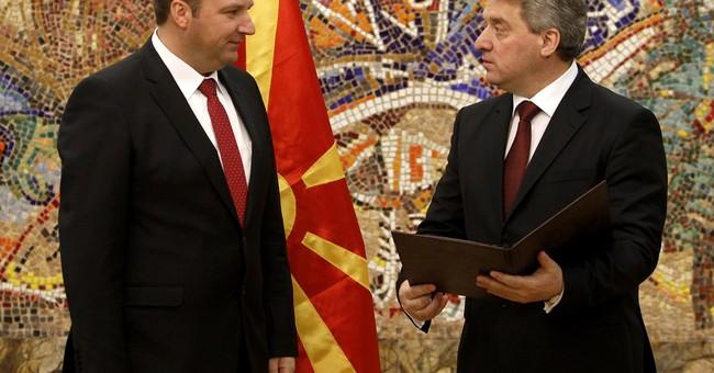 Macedonia names caretaker PM ahead of early poll
