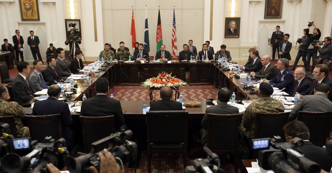 4 nations call on Taliban to join Afghan peace talks