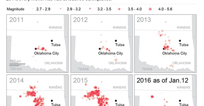 More quakes rattle Oklahoma but state avoids tough measures