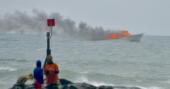 All 60 aboard New Zealand tourist boat rescued from fire