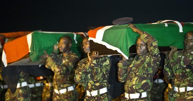 Bodies of 4 Kenyan soldiers slain in Somalia flown home