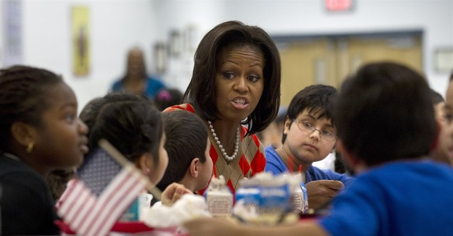 First lady, GOP Congress head toward truce on school lunches