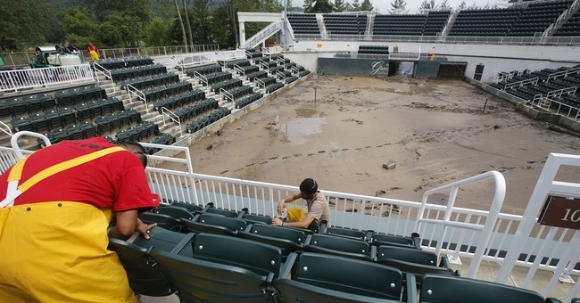 Iconic West Virginia resort turns shelter for flood refugees