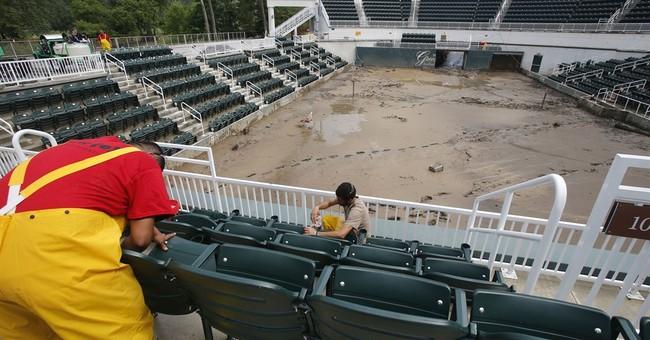 Iconic West Virginia resort turns shelter for flood refugees
