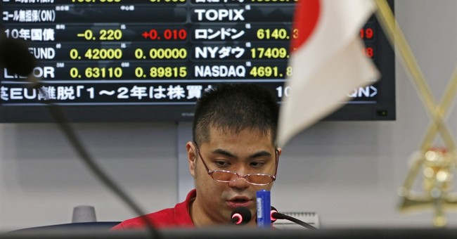 Asian stocks up as worries from Britain's EU leave vote ease