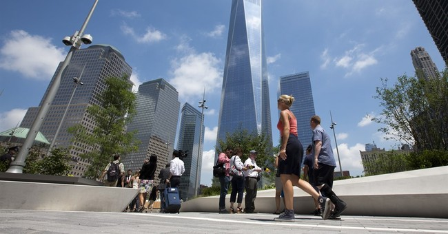 Elevated park opens at WTC site, overlooks 9/11 memorial