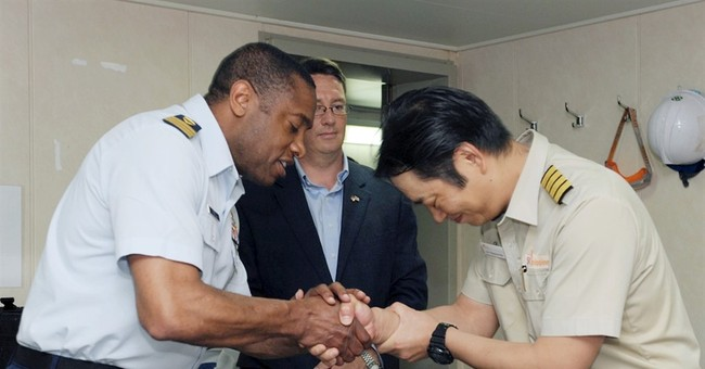 Vessel rescues 19 fishermen from burning boat off Bermuda