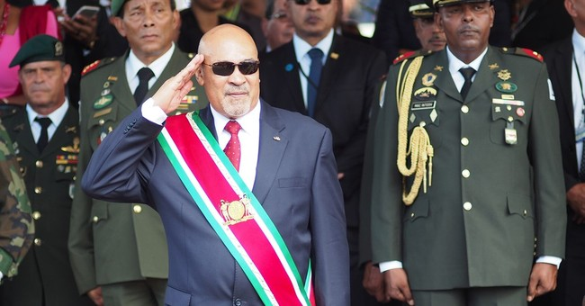 Suriname president acts to again avoid trial in 1982 deaths