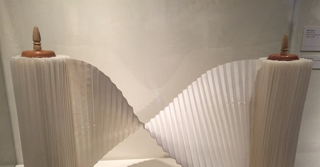 Exhibit unfolds origami's beauty as large-scale art