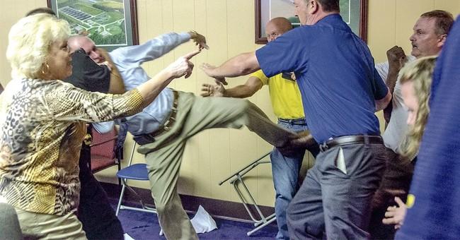 Alabama mayor found guilty of assaulting city councilman