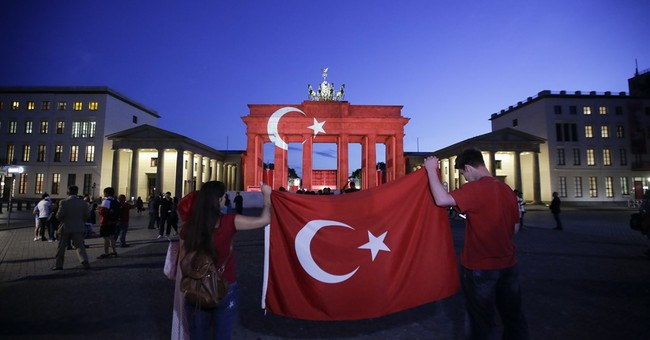 The Latest: Eiffel Tower to be lighted in Turkish colors