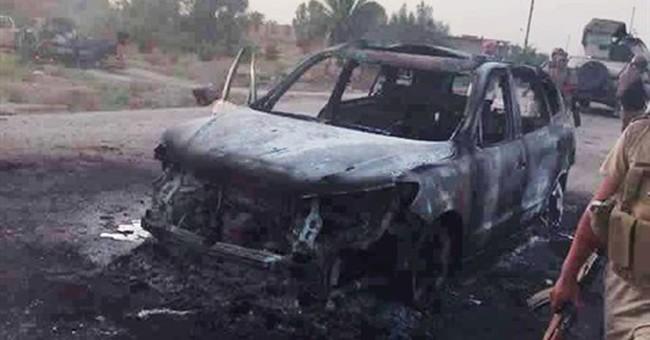 Iraq airstrikes kill scores of IS fighters fleeing Fallujah