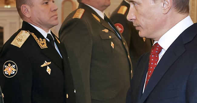 Russian defense minister purges Baltic Fleet command