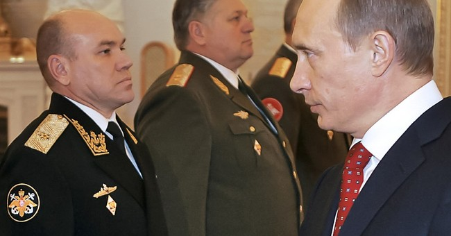 Russian defense minister purges Baltic Fleet command
