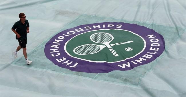 Serena survives at Wimbledon, racket doesn't; Djokovic down