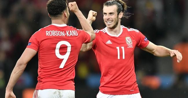 Wales stuns Belgium 3-1 at European Championship