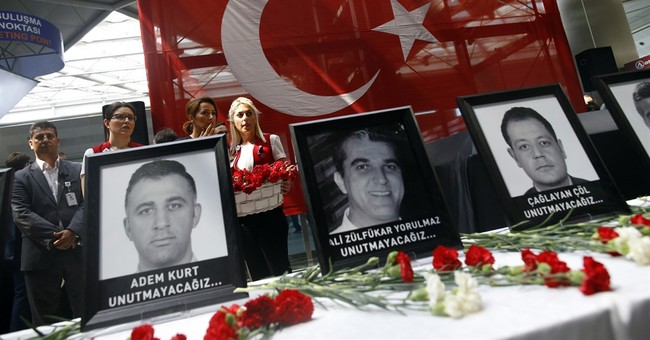 The Latest: Tunisian town buries doctor killed in Istanbul