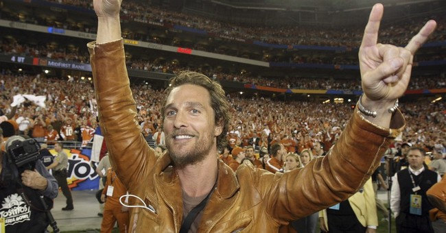 Matthew McConaughey teaching filmmaking course at Texas