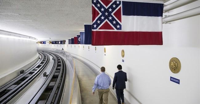 Washington flummoxed over federal Confederate flag displays