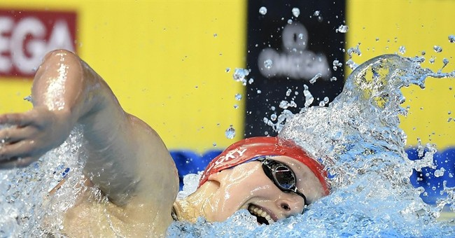 Ledecky poised to win 3rd individual title at US swim trials