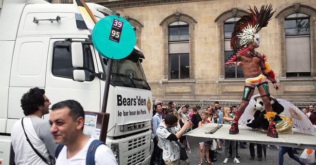 Paris gay pride parade goes ahead under tight security