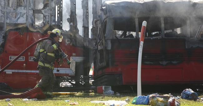 Florida officials investigating fiery crash that left 5 dead