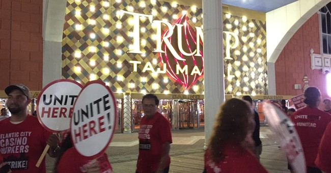 Gamblers cross Taj Mahal picket lines; union warns of mice