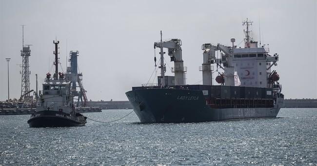 Turkish ship carrying aid to Gaza reaches Israeli port