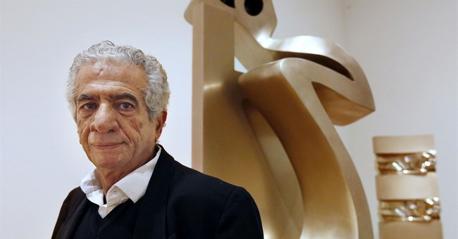 Iranian sculptor Tanavoli blocked from leaving the country