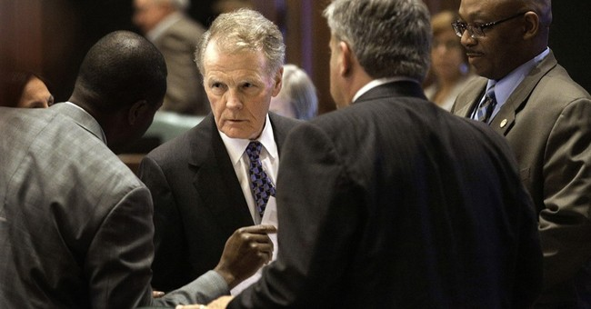 As late budgets go, Illinois has no equal